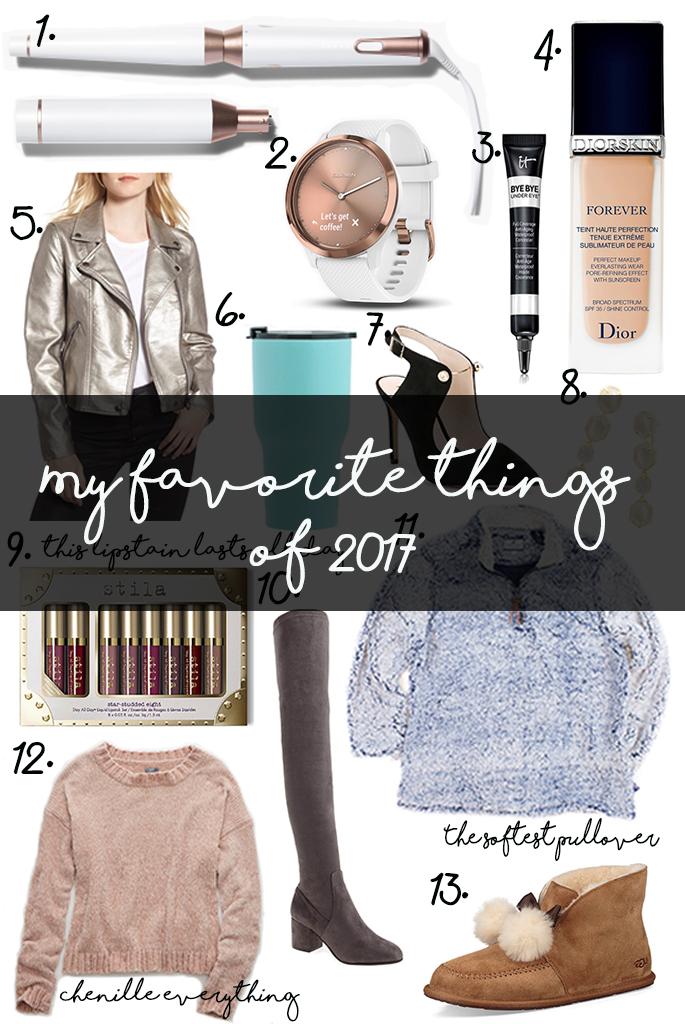 My Favorite Things of2017