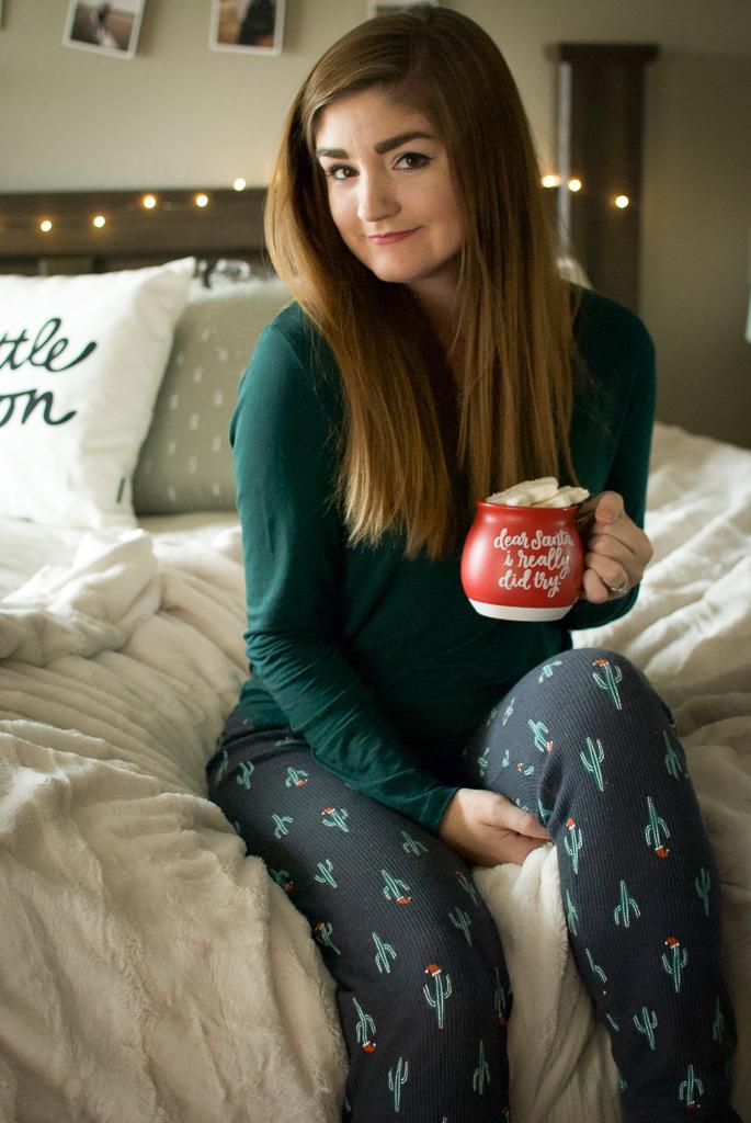 Christmas Leggings and Mug